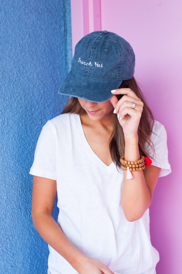 Dress Up Buttercup // A Houston-based fashion travel blog developed to daily inspire your own personal style by Dede Raad | Brunch Hat & Basics