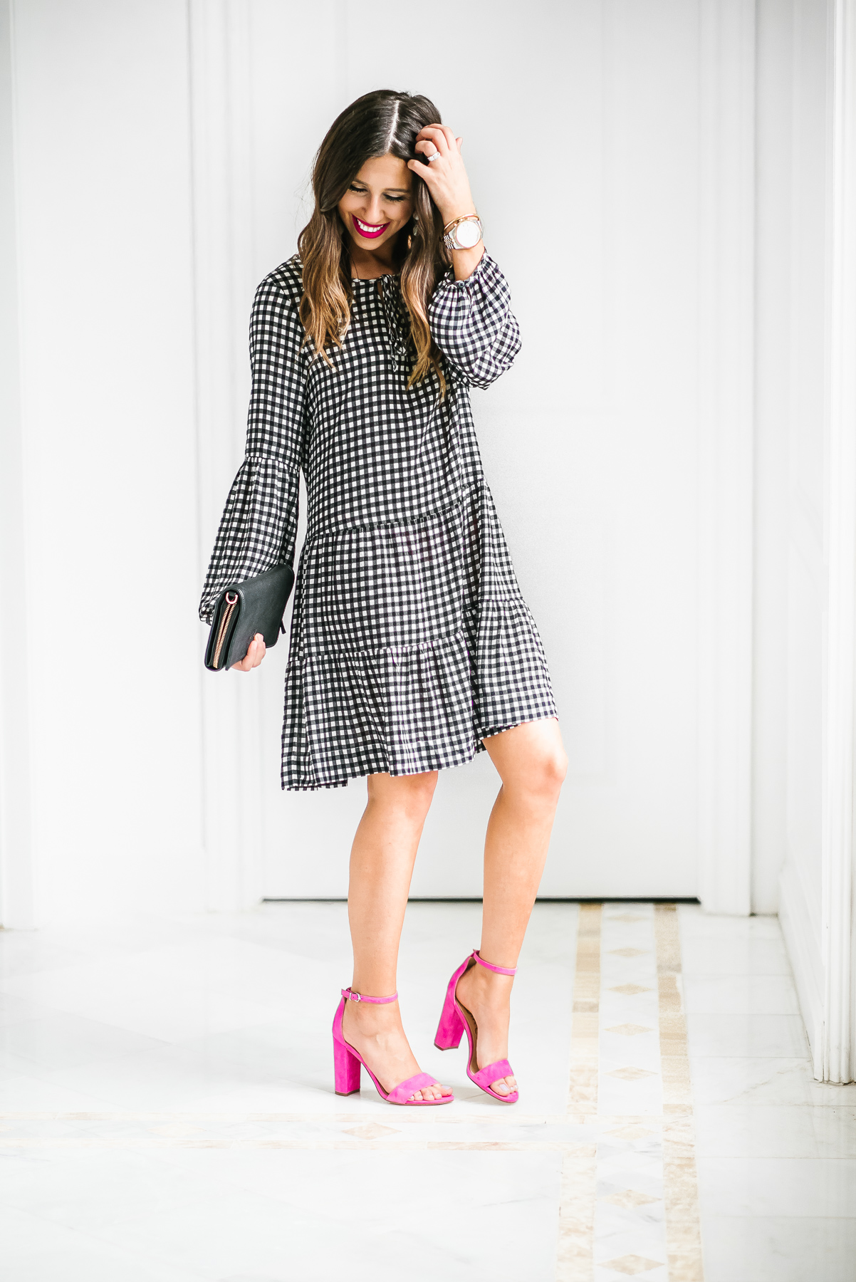 Dress Up Buttercup // A Houston-based fashion travel blog developed to daily inspire your own personal style by Dede Raad | Gingham Dress