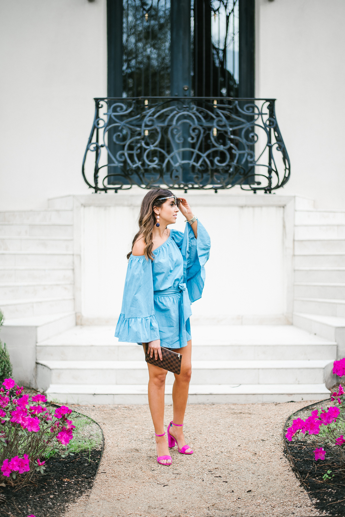 Dress Up Buttercup // A Houston-based fashion travel blog developed to daily inspire your own personal style by Dede Raad | Chambray Romper