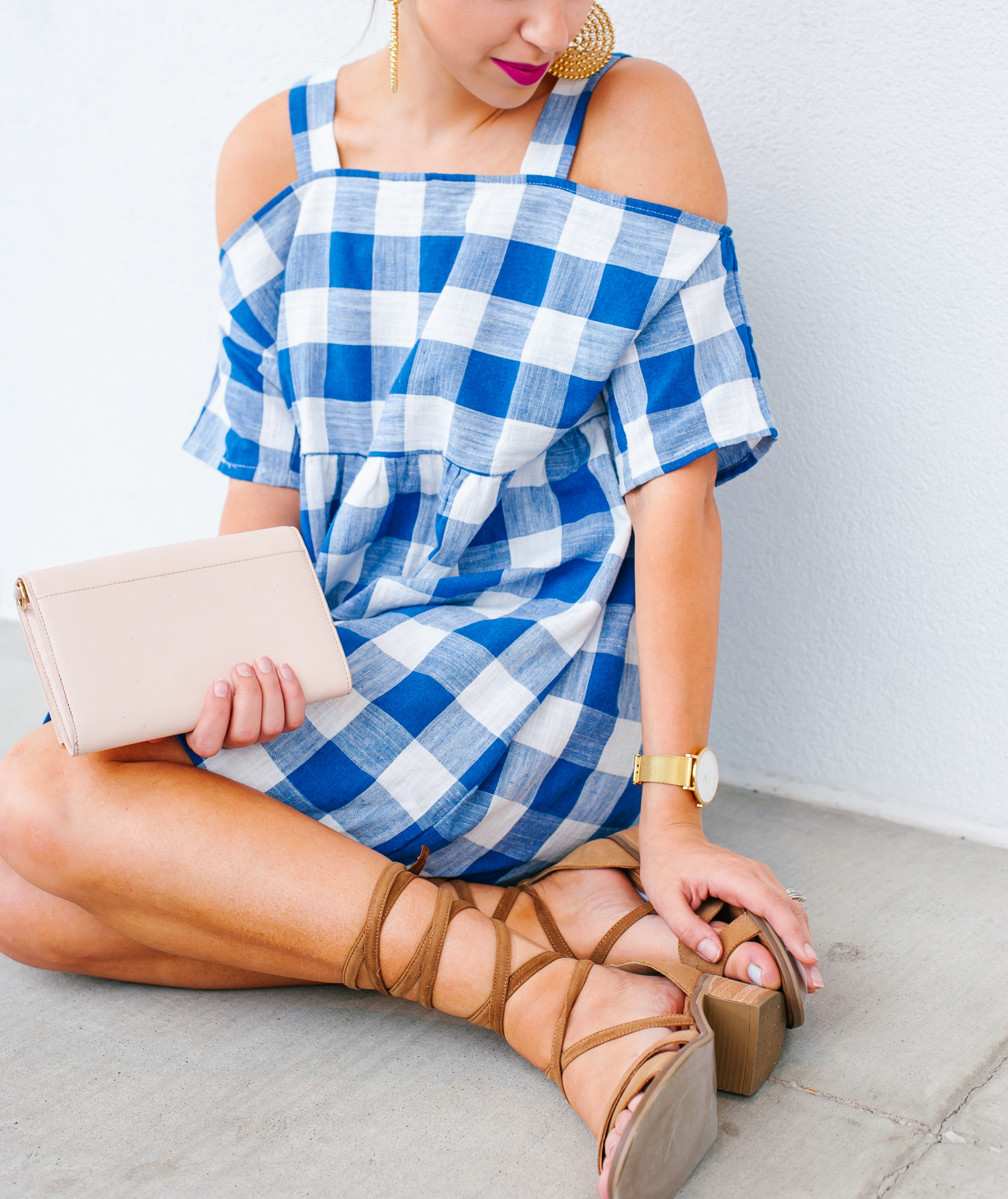 Dress Up Buttercup // A Houston-based fashion travel blog developed to daily inspire your own personal style by Dede Raad | Lace Ups & Gingham