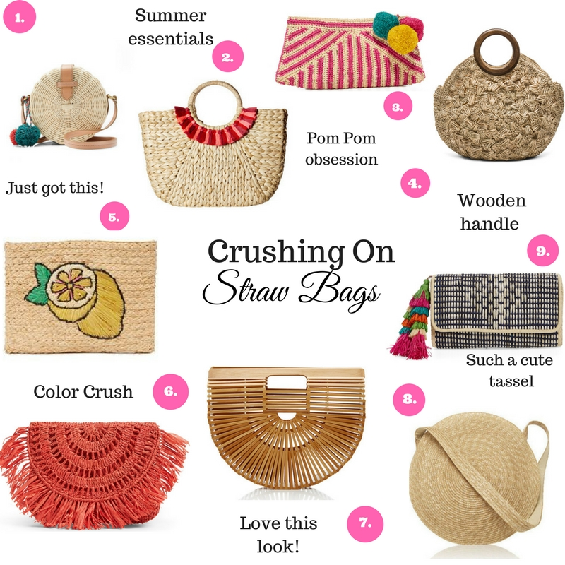 Dress Up Buttercup, Dede Raad, Houston blogger, fashion blogger, crushing on straw bags