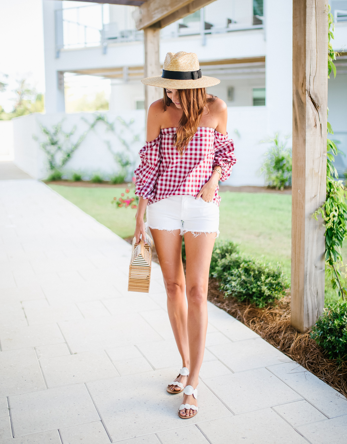 Dress Up Buttercup Gingham with the Girls