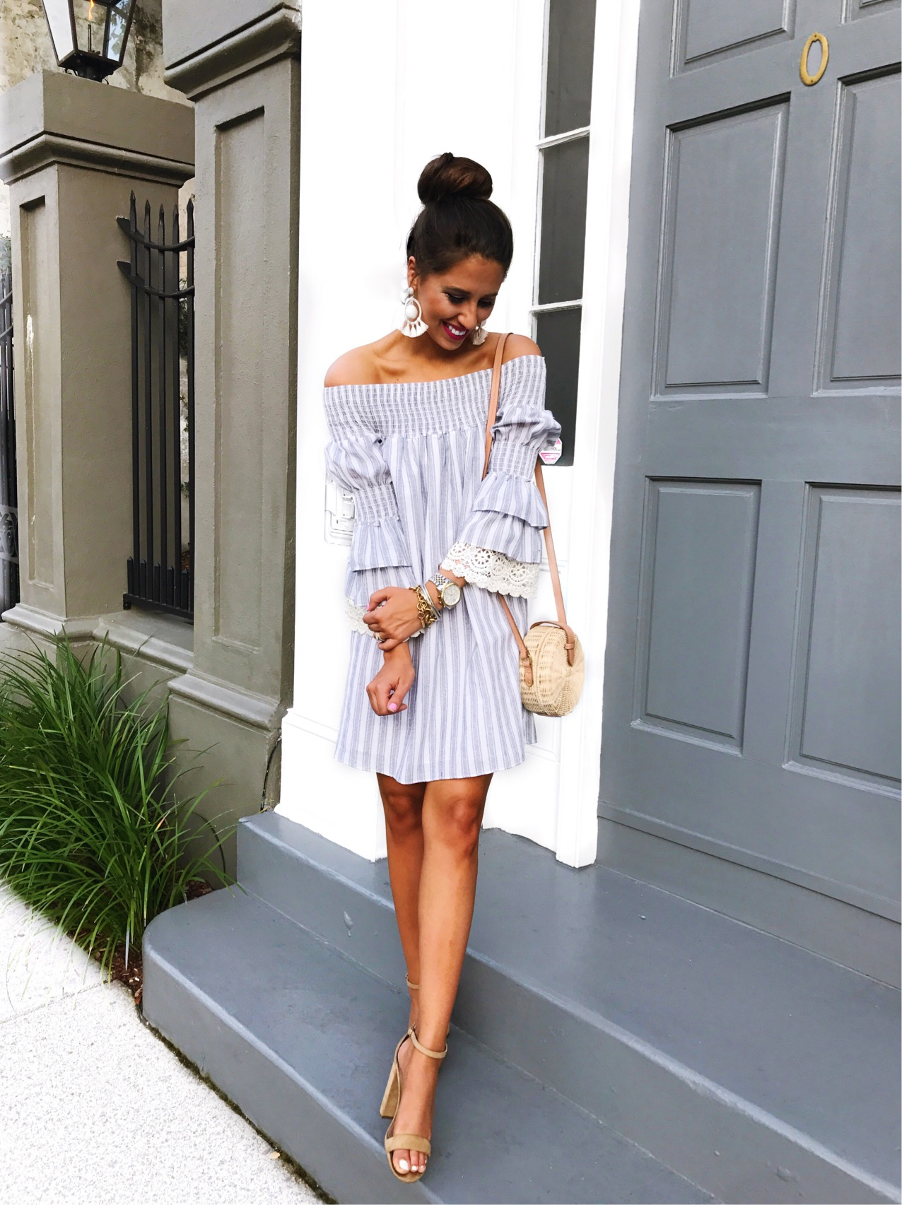 Dress Up Buttercup, Dede Raad, Houston blogger, fashion blogger, Charleston Travel Guide