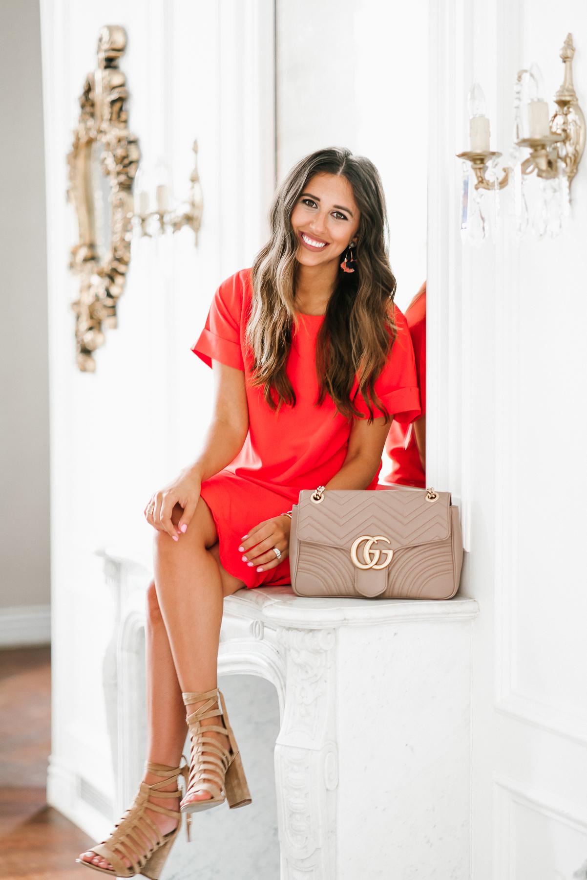 Dress Up Buttercup, Dede Raad, Houston Blogger, Fashion Blogger, Orange Crush