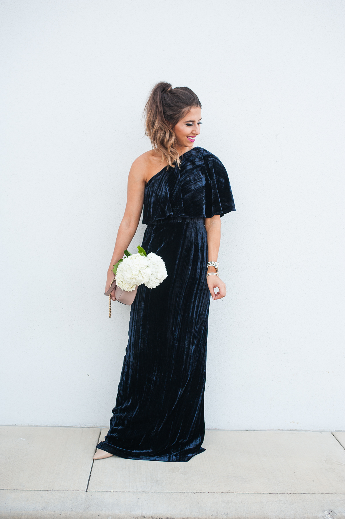 Velvet Gown for the Ball