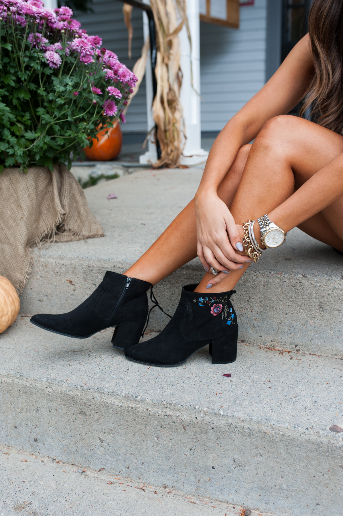 Fall Booties I Dress Up Buttercup