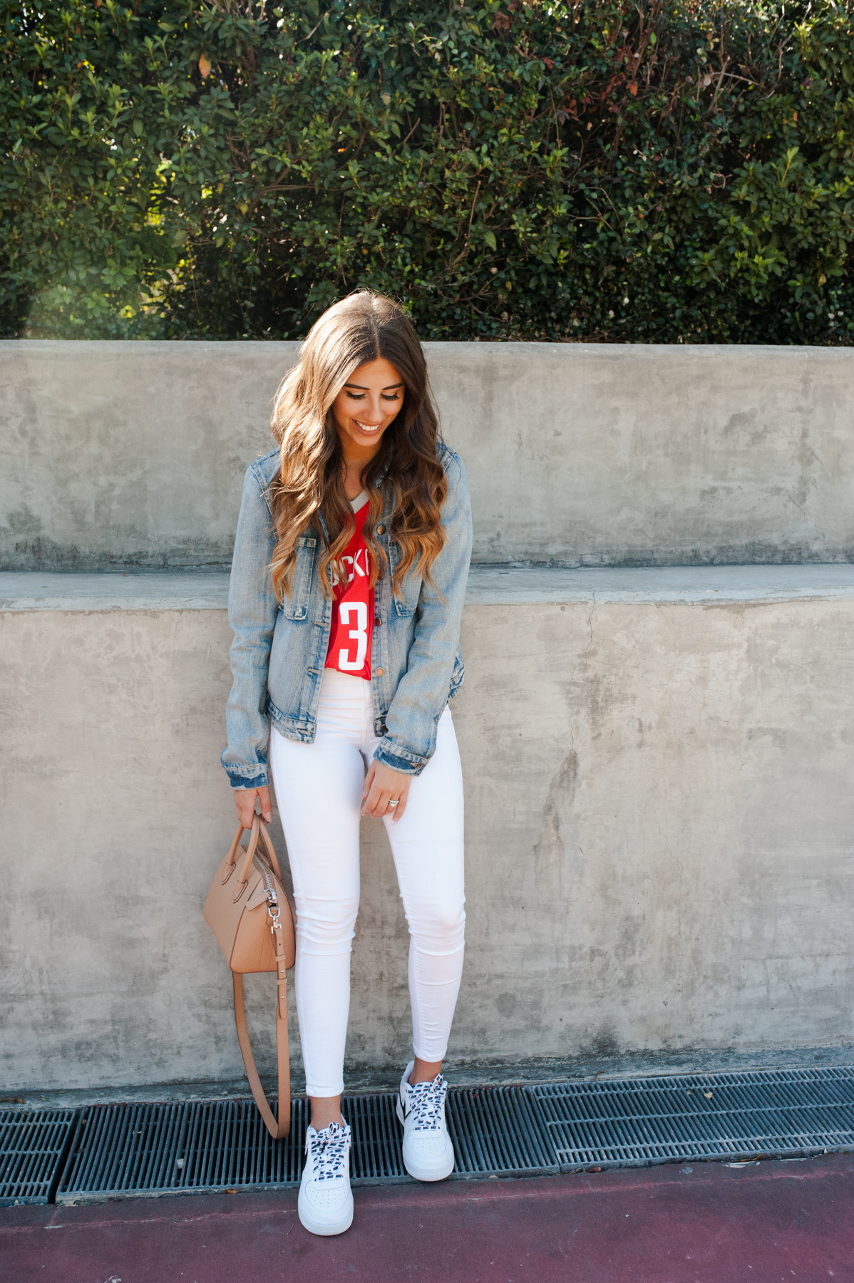 How to Style Your Home Teams Jersey 3 Different Ways   Dress Up Buttercup