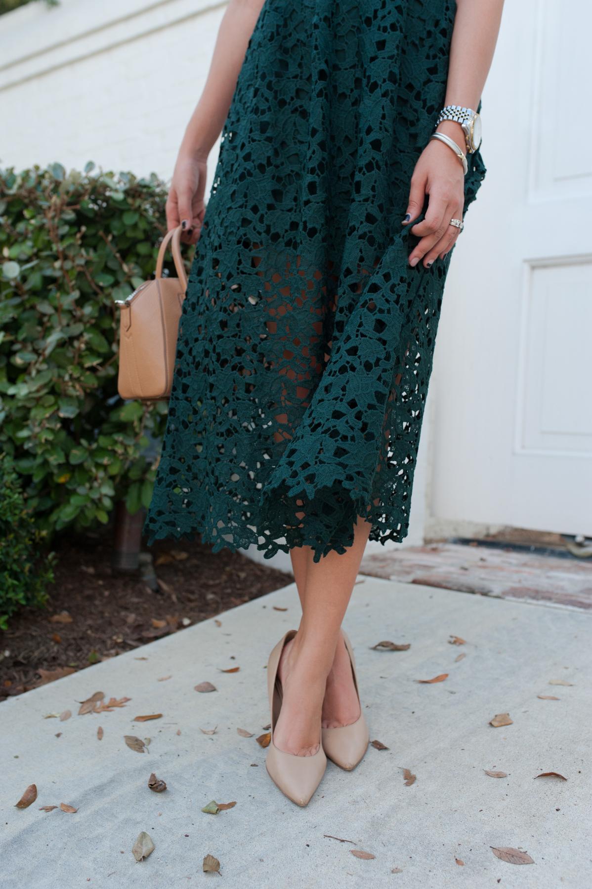 Lace Midi Dress   Dress Up Buttercup