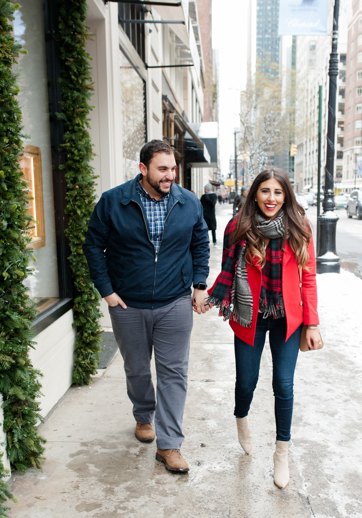 His & Her Holiday Stroll Look | Dress Up Buttercup