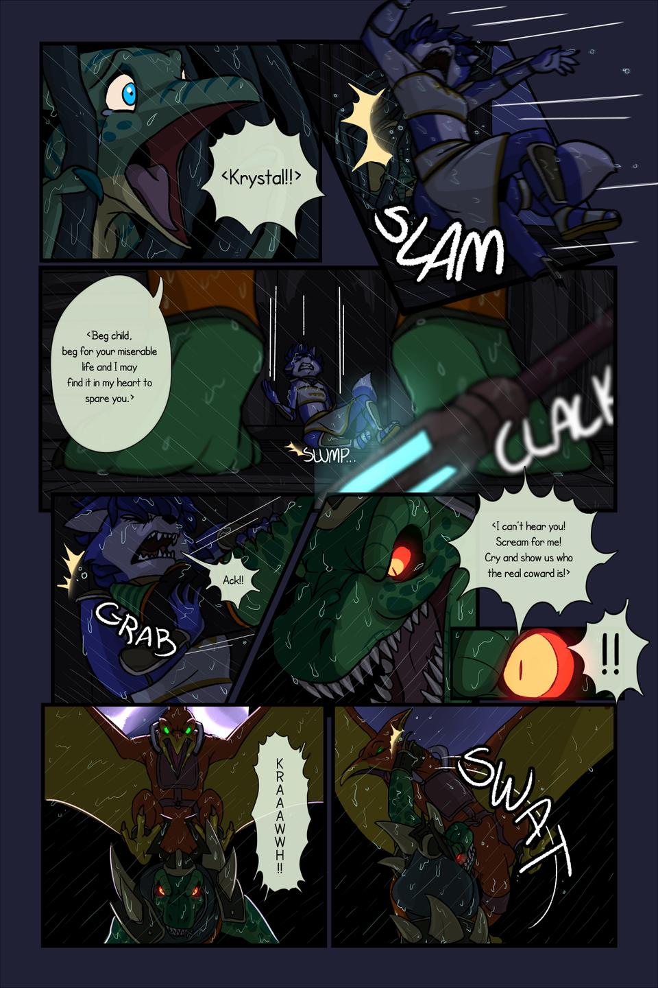 Starfox Adventures The Comic on The Duck : MISSION 1 - Page 19