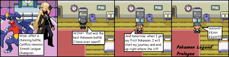 Pokemon Legend on The Duck : 1  Prologue - He's Your Not-So