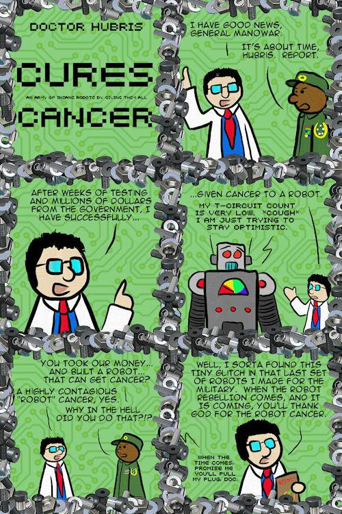 The Apple of Discord on The Duck : Dr  Hubris Cures … Cancer