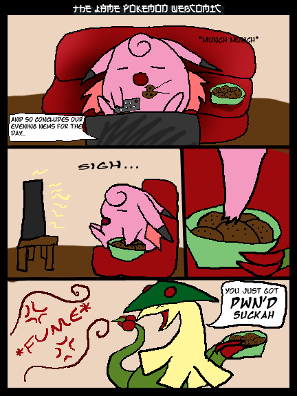 the lame pokemon webcomic on the duck page 2