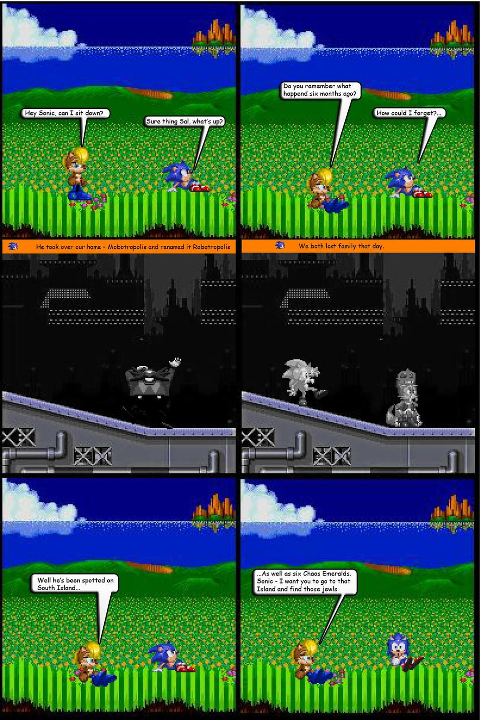 The Super Sonic Chronology Project on The Duck : Page 1
