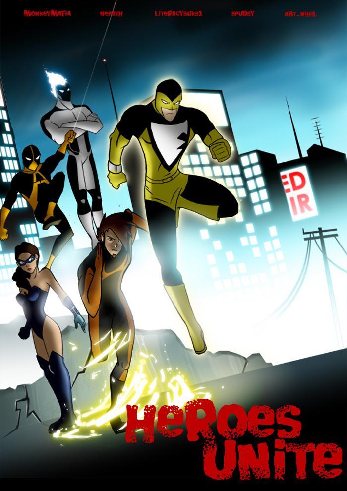 heroes unite by PowerMaster14 on DeviantArt