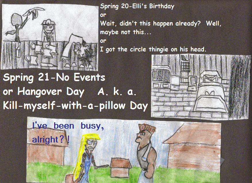 The Harvest Moon Comic Project on The Duck : Spring 23rd, part 3