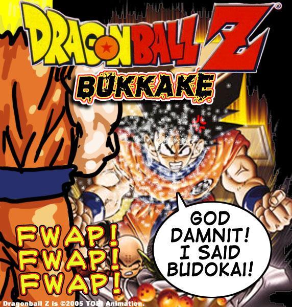 Dragon Ball Z Bukkake - Vintage Masters