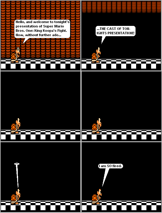 Super Mario Bros 3 The Sprite Webcomic On The Duck Introduction
