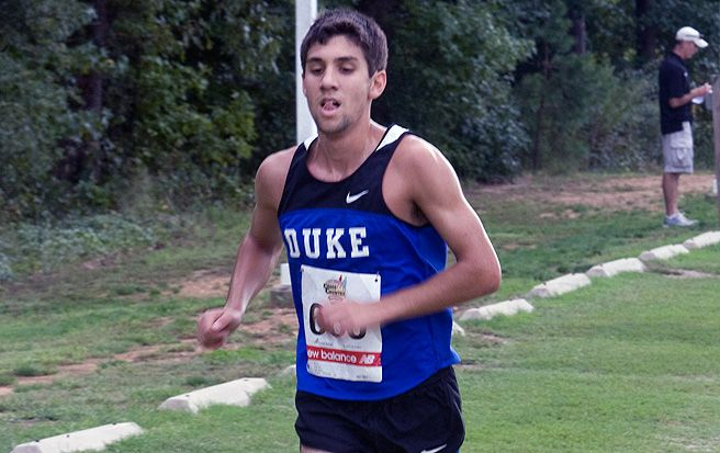 Mike Moverman earned All-ACC honors for the Blue Devils, but the team struggled overall at the meet.
