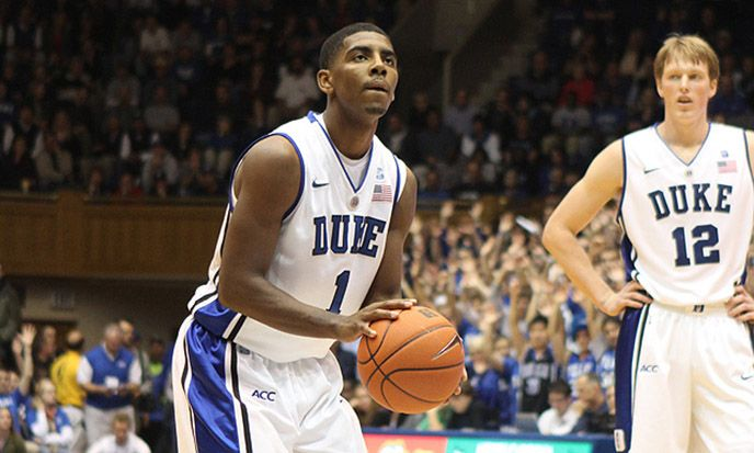 Former Duke basketball guard Kyrie Irving spent part of his summer helping Tyler Thornton and Josh Hairston develop their games.