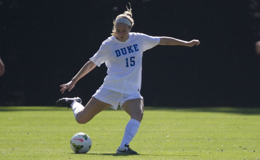 Junior Kara Wilson notched the Blue Devils' best shot at tying the No. 2 Seminoles, as her header went just wide of the goal in the 76th minute.
