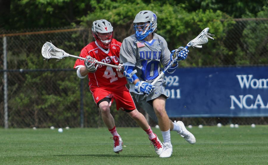 Junior Deemer Class and the Blue Devils pushed past the Terriers 13-7 Sunday afternoon in their regular season finale.