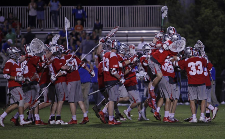 Ohio State burned the Duke defense for 16 goals to take out the two-time defending national champions Saturday.