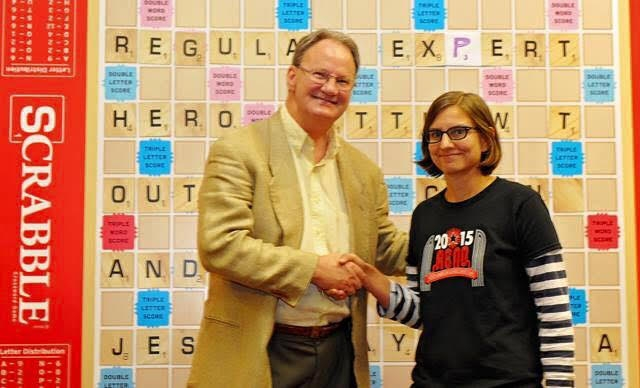 Rozear memorized hundreds of words per week in preparation for the enormous Scrabble event.