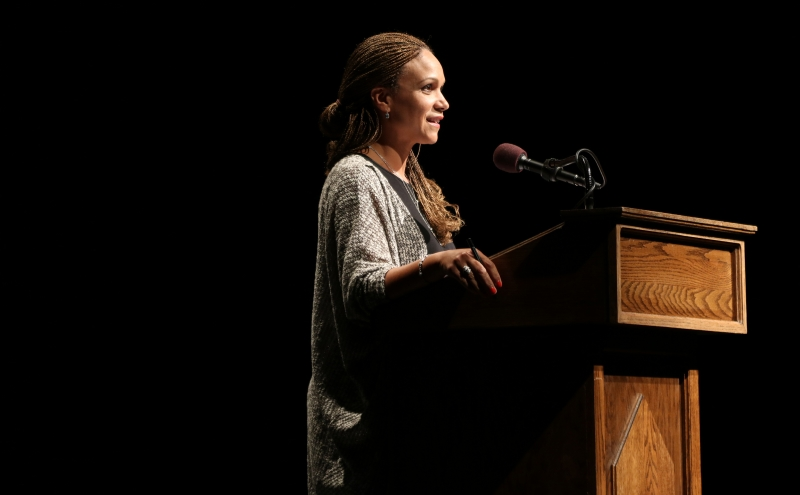 MSNBC personality Melissa Harris-Perry surprised some students with her orientation week closing speech. Harris-Perry was a student of Maya Angelou, who addressed incoming classes from 1989 until 2013.