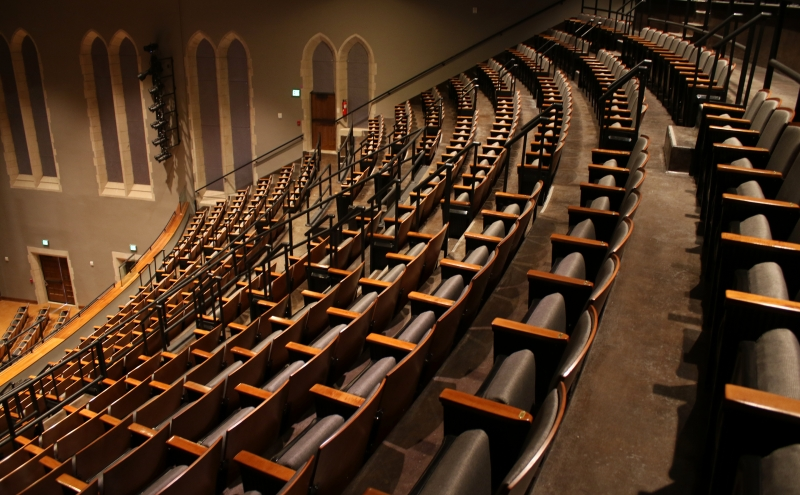 Page Auditorium reopened recently, but some expected the renovations to make the space more extravagant.