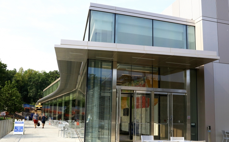 Reviews are mixed regarding the new trend of cost-efficient glass architecture that has become common for notable buildings on campus.