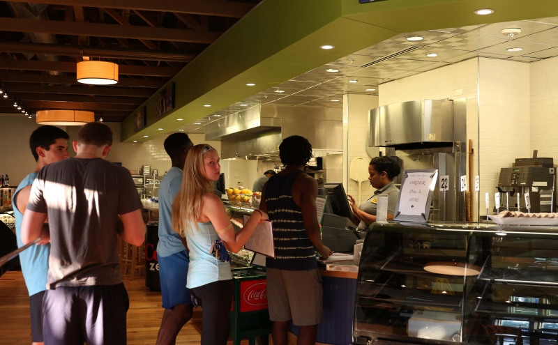 Dame's Express on Central Campus is hoping to maintain a steady clientele and become one of the most popular on-campus restaurants.