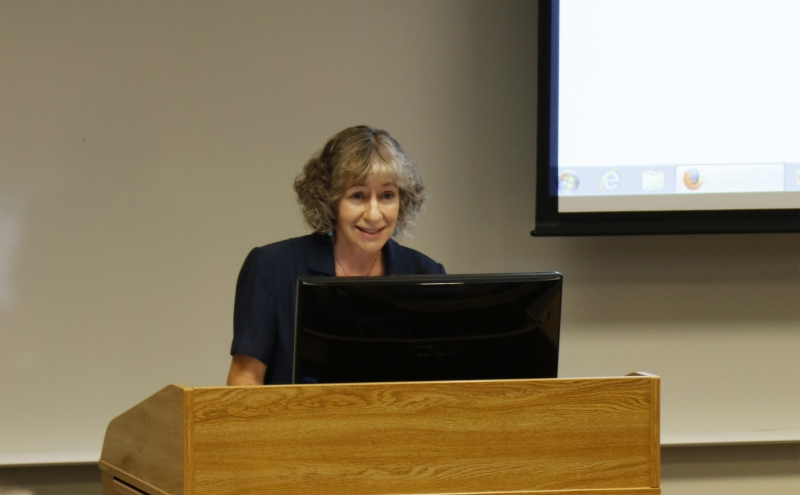 Thursday marked the first Academic Council meeting with Nan Jokerst, J.A. Jones Distinguished Professor of Electrical and Computer Engineering, as chair.