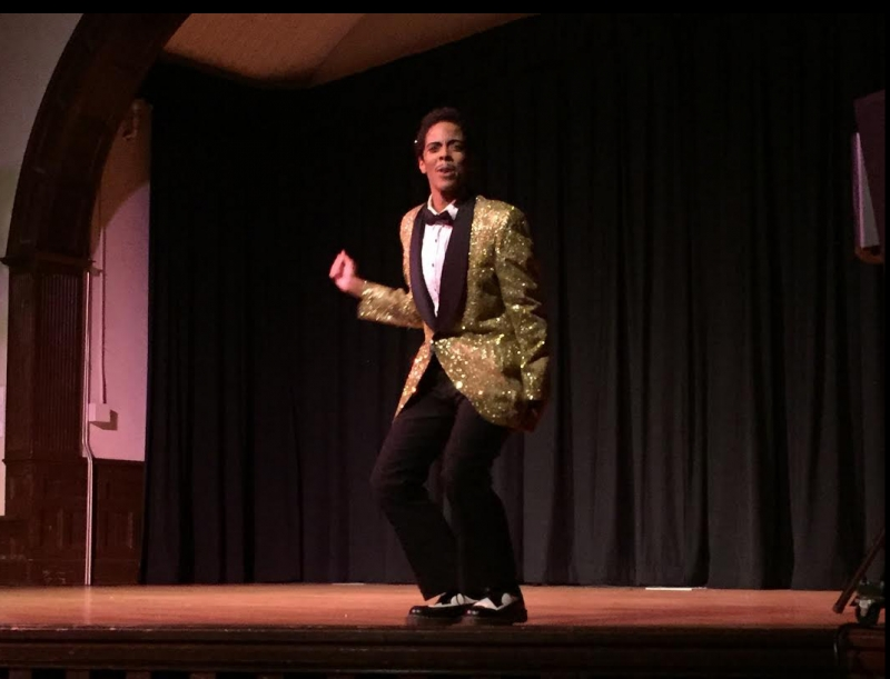 Drag king Spray J. earned his Ph.D. in psychology from Duke last year and performed at an event detailing the history of drag Monday night.