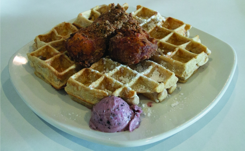 "Dame's Chicken and Waffles owner Randy Wadsworth noted that explaining the ""express"" concept to some customers has been a challenge."