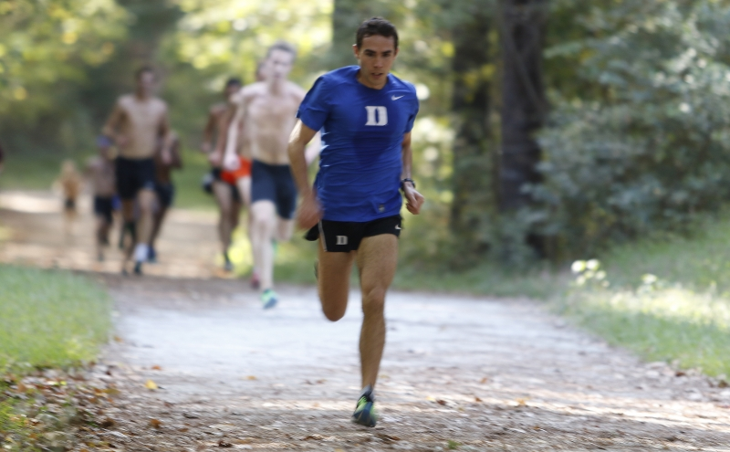 Graduate student Shaun Thompson will run for All-American honors Saturday at the NCAA championship meet in Louisville, Ky.