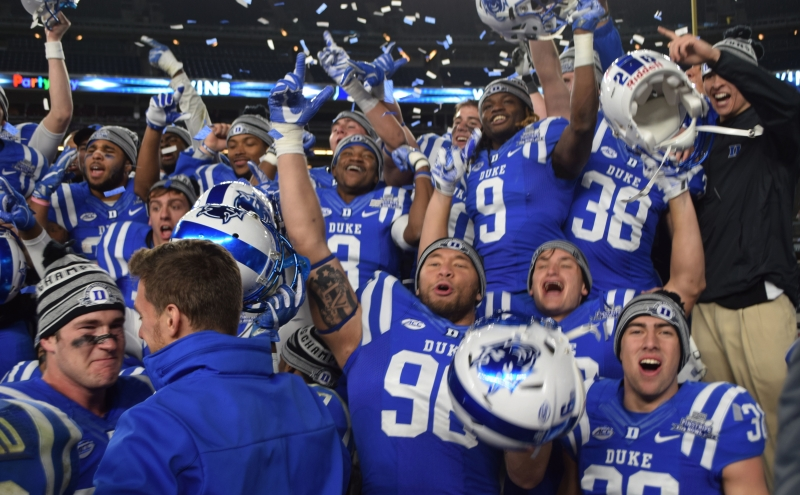 Duke football seniors move beyond past disappointments, deliver signature win