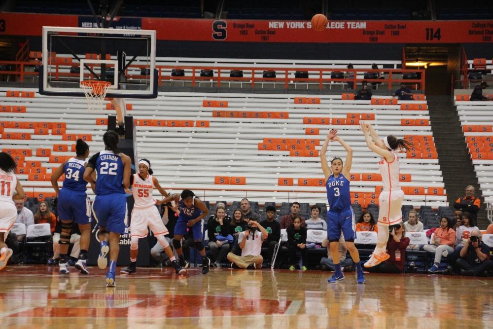Orange crush: Syracuse blows out Duke women's basketball ...