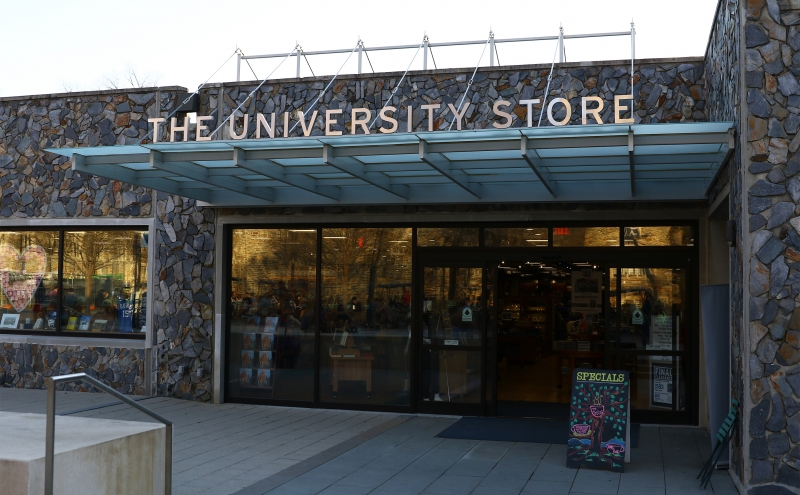 The Bryan Center's University Store was the site of attempted larceny Monday afternoon.