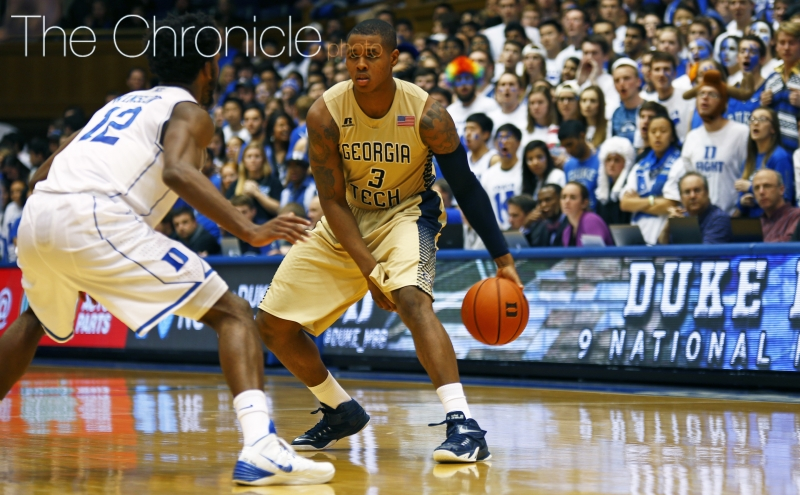 Senior Marcus Georges-Hunt leads the Yellow Jackets with 15.9 points per game.