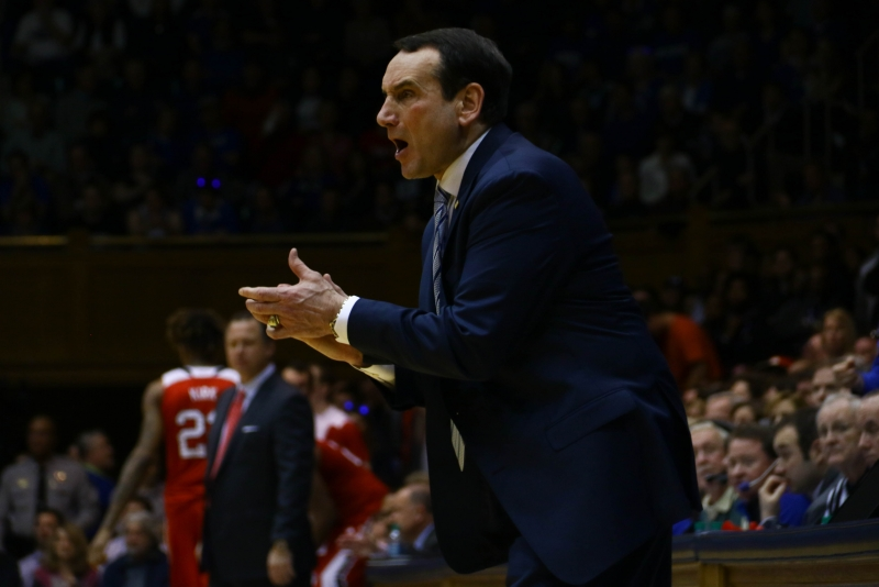 Krzyzewski talks hospital stay after N.C. State game