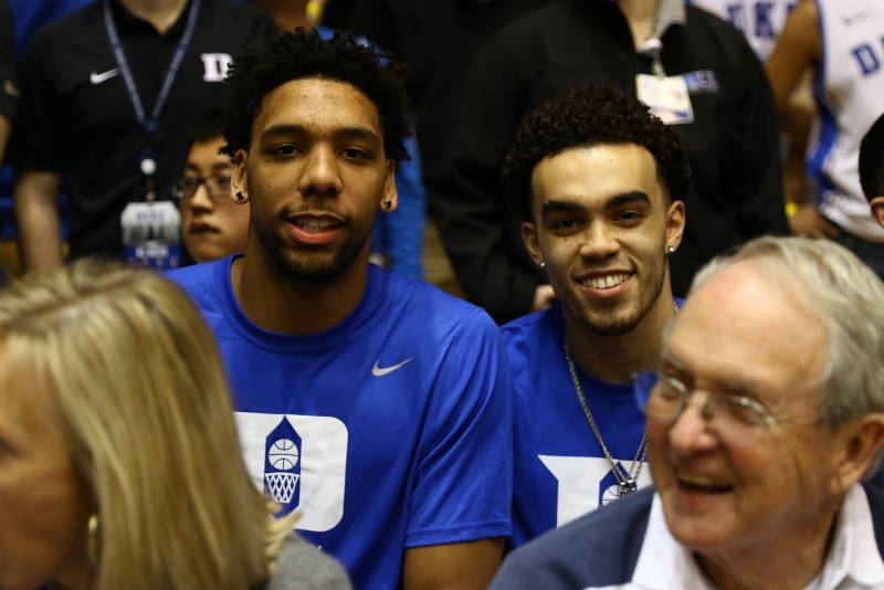 With 2015 hero Tyus Jones looking on, Allen rises to the occasion in classic Duke-Virginia game