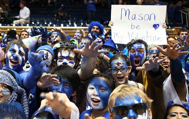 A number of Cameron Crazies still observed Ash Wednesday, despite its overlapping with the UNC game.