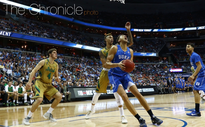 Freshman Chase Jeter and redshirt sophomore Sean Obi gave Duke good early minutes, but the Blue Devils ran out of gas with Marshall Plumlee hampered by foul trouble and a broke nose.