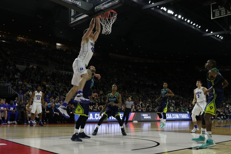 Marshall Plumlee scored a career-high 23 points Thursday, with 19 of them coming in the second half.