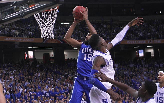 Junior Josh Hairston converted two offensive rebounds into baskets in the second half during a critical 14 minutes, after senior Mason Plumlee fouled out at 16:04 left in the game. Last Friday against Georgia State, Hairston was the only Blue Devil to play and not score.
