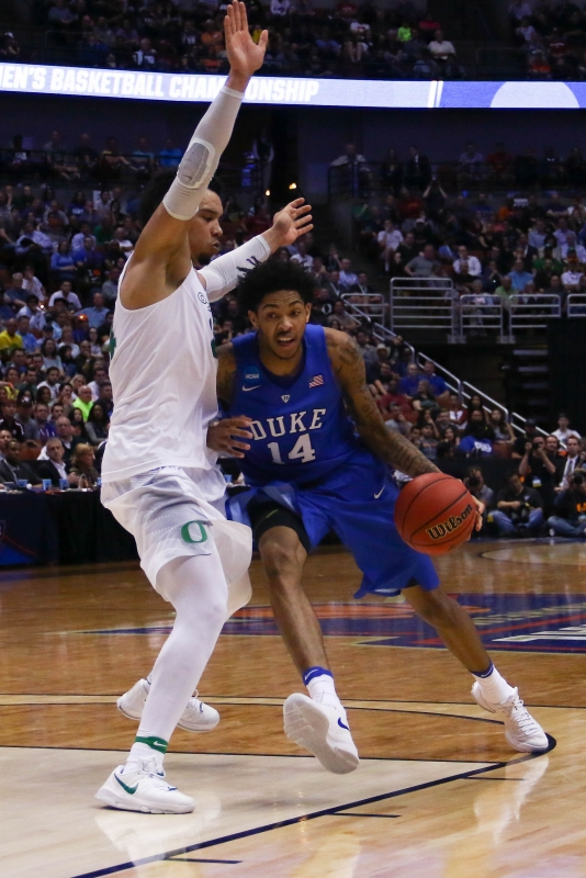 Season over: Oregon knocks Duke men's basketball out of ...