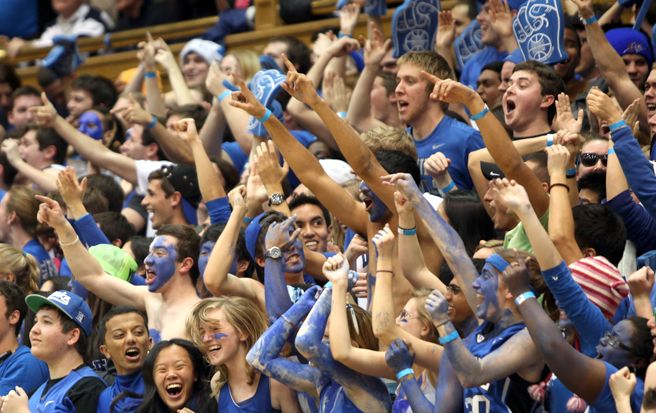 Sneaking into this year's Duke-North Carolina game won't be so easy because of more intricate wristbands.