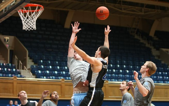 Duke manager Mike Sotsky credited sophomore Ian McKiernan for his leadership and competitiveness to beat the UNC managers.