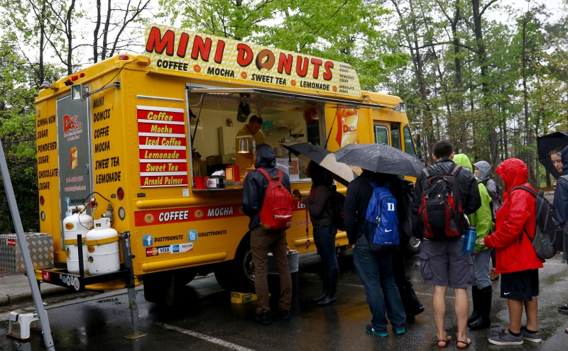 A survey about food trucks was sent out after last week's food truck rodeo.